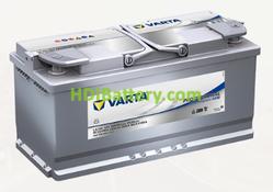 Batería para caravanas Varta Professional Purpose AGM 12 voltios 105Ah 950A LA105 394 x 175 x 190 mm
