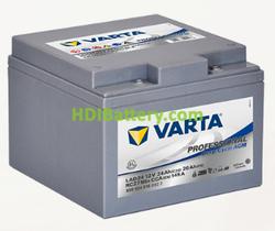 Batería para autocaravanas Varta Professional Deep Cycle AGM 12 voltios 24Ah 145A LAD24 165 x 176 x 125 mm
