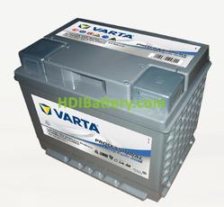 Batería para caravanas Varta Professional Deep Cycle AGM 12 voltios 50Ah 400A LAD50A 241 x 175 x 190 mm