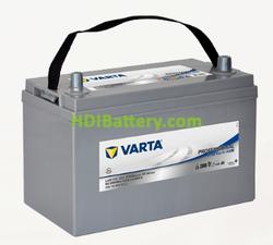 Batería para barco Varta Professional Deep Cycle AGM 12 voltios 115Ah 550A LAD115 328 x 172 x 233.5 mm