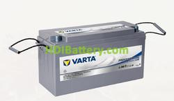 Batería para barco Varta Professional Deep Cycle AGM 12 voltios 150Ah 825A LAD150 484 x 171 x 241 mm
