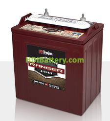 Batería de plomo ácido abierto Trojan para buggies de golf Ranger 160 8V 255Ah Ciclo profundo