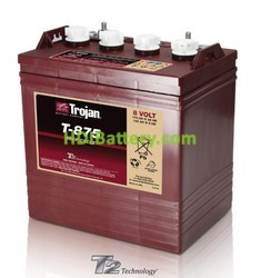 Batería para apiladora 8V 170Ah Trojan T-875