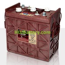 Batería de plomo ácido abierto Trojan para buggies de golf J250P 6V 250Ah Ciclo profundo