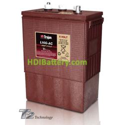 Batería para instalaciones solares 6V 390Ah Trojan L16G-AC