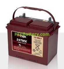 Batería para instalaciones solares 12V 85Ah Trojan 24TMX