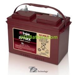 Batería para buggie de golf 12V 105Ah Trojan 27TMX