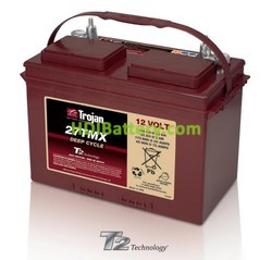 Batería para caravana y autocaravana 12V 105Ah Trojan 27TMX