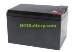 Batería para silla de ruedas plegable 12V 12Ah PBG12-12