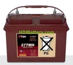 Batería para solar 12V 115Ah Trojan 27TMH