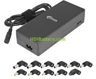 Alimentador automático PC portátil 120W 15,0-16,0-18,5-19,0-19,5Vcc