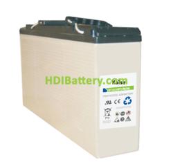 Batería Agm Frontal Kaise 12v 250Ah KBFS122500 Solar