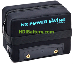 Batería de litio para carro de golf 12v 22ah Nx + kit de carga