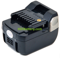 Batería herramienta inalámbrica 14.4V 3Ah Hitachi BSL1415 BSL1430 BSL1440