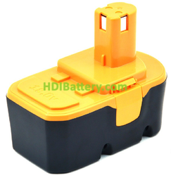 Batería herramienta inalámbrica 18V 3Ah Ryobi BPP-1813, BPP-1817, BPP1820