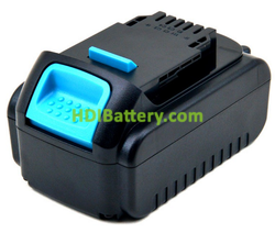 Batería herramienta inalámbrica 20v /18V 4000mAh Dewalt DCB182, DCD740, DCD740B