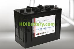 Batería para apiladora 12v 130Ah Q-batteries 12TTB-130