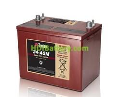 Batería para apiladora 12v 76Ah Trojan 24-AGM