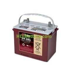 Batería para apiladora 12v 77ah Trojan 24-GEL