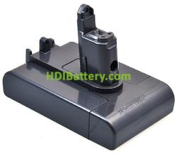 Batería para aspirador 22.2V 1.5Ah Dyson DC35, DC57