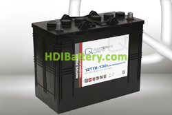 Batería para buggy de golf 12v 130Ah Q-batteries 12TTB-130