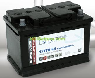 Batería para buggy de golf 12v 65Ah Q-batteries 12TTB-65