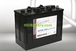 Batería para elevador 12v 130Ah Q-batteries 12TTB-130