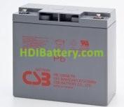Batería para UPS-SAI 12v 90w Plomo Agm HR-1290W CSB