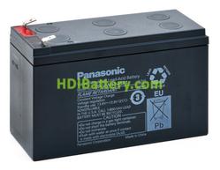 Batería para UPS-SAI 12v 9ah 270w Panasonic UP-VW1245P1