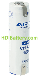 Batería recargable AA/RC6 NI-MH ARTS ( NUEVA MARCA DE SAFT )