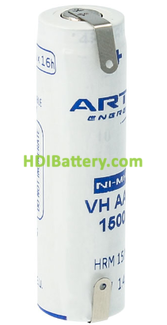 Batería recargable AA-RC6 NI-MH ARTS ( NUEVA MARCA DE SAFT )