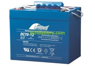 Batería solar AGM Fullriver DC70-12 12V 70Ah Ciclo profundo