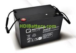 Batería solar agm 12v 63Ah 12LCP-60 Q-Batteries