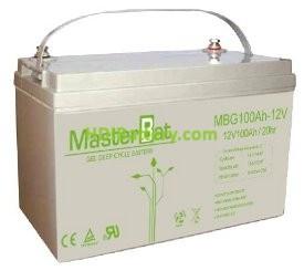 Batería solar Gel 12V 100Ah U-Power Up-G100-12