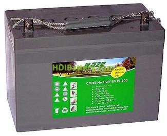 Batería solar gel 12v 100Ah HAZE HZY-EV12-100