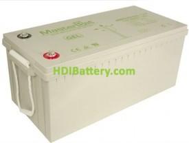 Batería solar gel 12v 200ah UPOWER