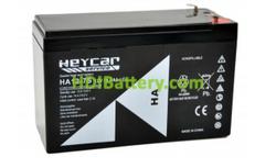 Batería AGM 12 Voltios 7 Amperios Heycar HA12-7S HEY (151 X 65 X 94 mm )