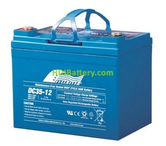 Batería de Ciclo Profundo Fullriver DC35-12A 12V 35Ah 196x131x167mm