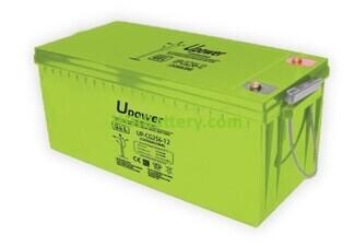 Batería Carbono - Gel 12 Voltios 256 Amperios UP-CG256-12