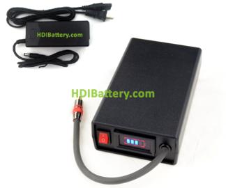Batería de 48v 3.4ah LITIO-ION para tijeras de poda eléctricas ELECTROCOUP F-4005, F-3005, F-3000, F3002 + cargador