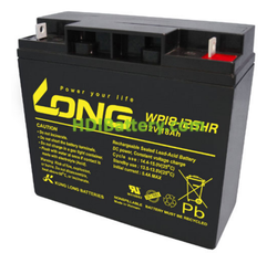 Batería de AGM 12 Voltios 18 Amperios Long WP18-12SHR