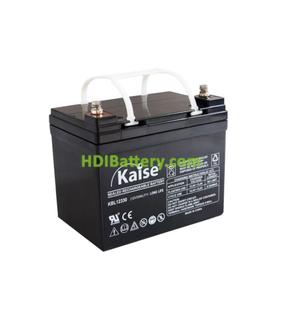Batería de AGM 12 Voltios 33 Amperios Kaise KBL12330