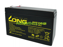 Batería de AGM 12 Voltios 7.2 Amperios Long WP7.2-12