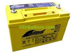 Batería de alta descarga Fullriver HC110 12V 110 Ah CCA 1100A 330x173x237 mm