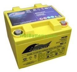 Batería de alta descarga Fullriver HC28 12V 28 Ah CCA 410A 165x176x125 mm