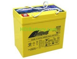 Batería de alta descarga Fullriver HC55 12V 55 Ah CCA 620A 229x138x212 mm