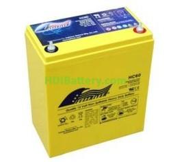 Batería de alta descarga Fullriver HC60 12V 60 Ah CCA 700A 220x121x261 mm