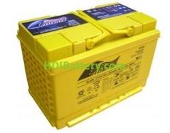Batería de alta descarga Fullriver HC60B 12V 60 Ah CCA 625A 278x175x190 mm