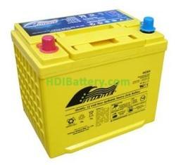 Batería de alta descarga Fullriver HC64 12V 64 Ah CCA 750A 240,3x173,7x219,5 mm
