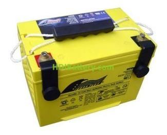 Batería de alta descarga Fullriver HC65-S 12V 65 Ah CCA 825A 261x171,5x186,5 mm